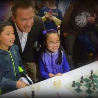 Arnold Schwarzenegger Played Chess With Some Kid At His Fitness Expo and Got His Ass HANDED To Him