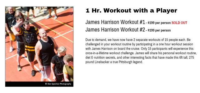 harrison workout