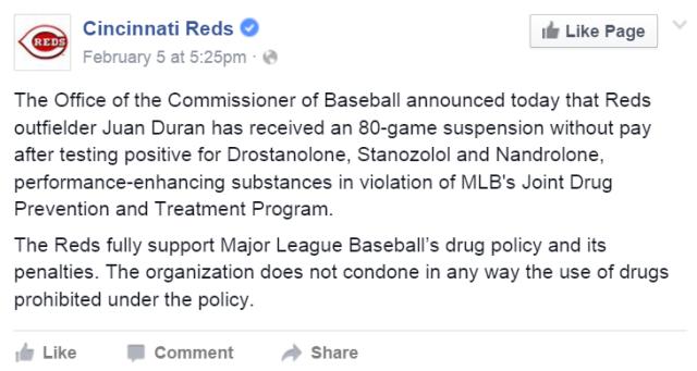 reds statement